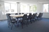 Seminar Room boardroom setup