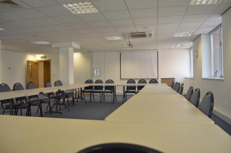Convention Room boardroom setup